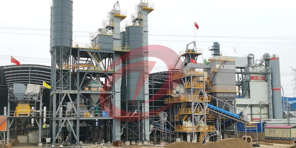 年产30万吨干混砂浆站