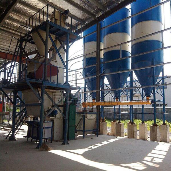 浙江杭州干粉砂浆生产线