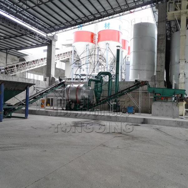 四川阆中干混砂浆生产线