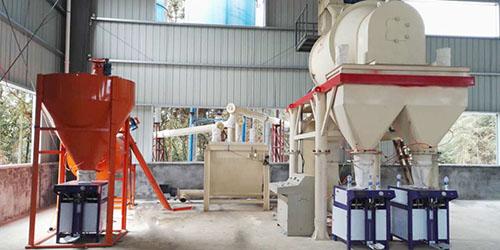 无机保温砂浆生产线